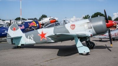 Photo ID 206188 by Lukas Könnig. Private Private Yakovlev Yak 3UA, F AZZK