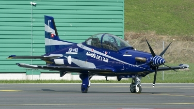 Photo ID 206228 by Joop de Groot. France Air Force Pilatus PC 21, HB HVA