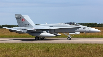 Photo ID 206599 by Thomas Ziegler - Aviation-Media. Switzerland Air Force McDonnell Douglas F A 18C Hornet, J 5021