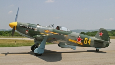 Photo ID 206250 by David F. Brown. Private Fighter Factory Yakovlev Yak 9UM, N6373Y