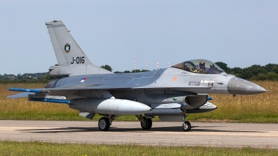 Photo ID 206280 by Thomas Ziegler - Aviation-Media. Netherlands Air Force General Dynamics F 16AM Fighting Falcon, J 016