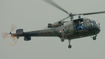 Photo ID 206527 by Sven Zimmermann. Netherlands Air Force Aerospatiale SA 316B Alouette III, A 292