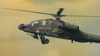 Photo ID 206594 by Sven Zimmermann. Netherlands Air Force Boeing AH 64DN Apache Longbow, Q 19