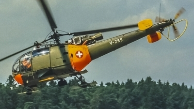 Photo ID 206506 by Martin Thoeni - Powerplanes. Switzerland Air Force Aerospatiale SA 316B Alouette III, V 269