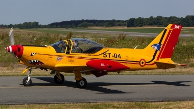 Photo ID 206473 by Thomas Ziegler - Aviation-Media. Belgium Air Force SIAI Marchetti SF 260M, ST 04