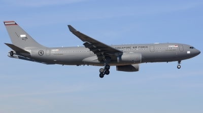 Photo ID 206586 by Alberto Gonzalez. Singapore Air Force Airbus A330 243MRTT, EC 333