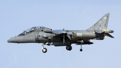 Photo ID 206609 by Joop de Groot. UK Air Force British Aerospace Harrier T 10, ZH661