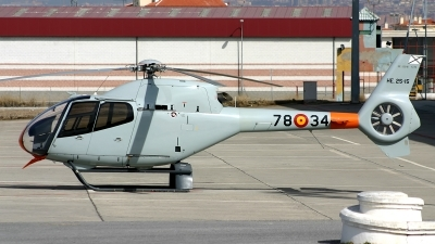 Photo ID 206699 by F. Javier Sánchez Gómez. Spain Air Force Eurocopter EC 120B Colibri, HE 25 15
