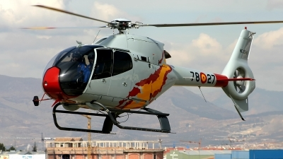 Photo ID 206700 by F. Javier Sánchez Gómez. Spain Air Force Eurocopter EC 120B Colibri, HE 25 8