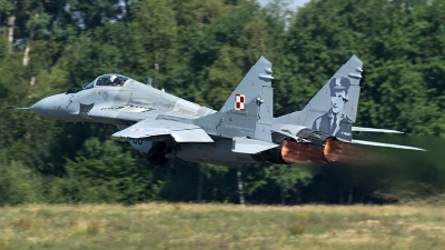 Photo ID 206693 by Thomas Ziegler - Aviation-Media. Poland Air Force Mikoyan Gurevich MiG 29A 9 12A, 89