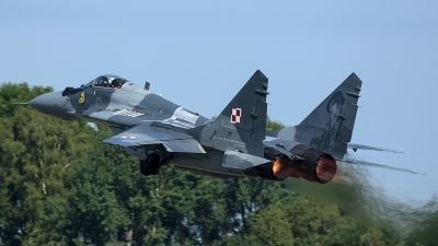 Photo ID 206694 by Thomas Ziegler - Aviation-Media. Poland Air Force Mikoyan Gurevich MiG 29A 9 12A, 40
