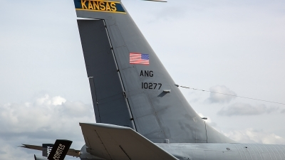 Photo ID 206711 by Thomas Ziegler - Aviation-Media. USA Air Force Boeing KC 135R Stratotanker 717 100, 61 0277