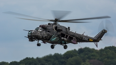 Photo ID 206731 by Thomas Ziegler - Aviation-Media. Czech Republic Air Force Mil Mi 35, 3366