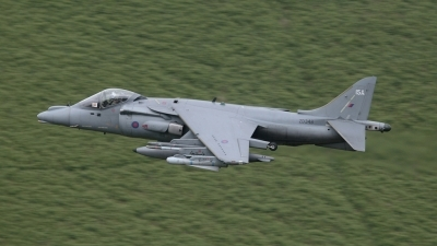 Photo ID 24323 by Barry Swann. UK Navy British Aerospace Harrier GR7A, ZD348