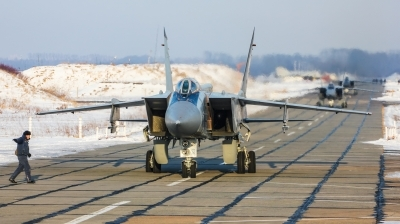Photo ID 206730 by Kirill Mushak. Russia Air Force Mikoyan Gurevich MiG 31, RF 92338