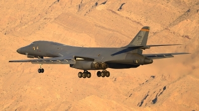 Photo ID 206722 by Peter Boschert. USA Air Force Rockwell B 1B Lancer, 85 0089
