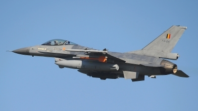 Photo ID 206767 by Peter Boschert. Belgium Air Force General Dynamics F 16AM Fighting Falcon, FA 124