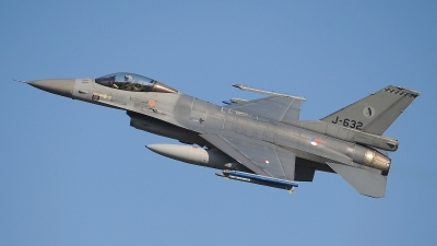 Photo ID 206749 by Peter Boschert. Netherlands Air Force General Dynamics F 16AM Fighting Falcon, J 632