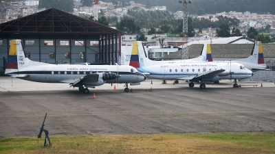 Photo ID 206818 by F. Javier Sánchez Gómez. Ecuador Air Force Hawker Siddeley HS 748 Srs2A 281 Andover, FAE 743