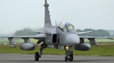 Photo ID 206883 by Robert Flinzner. Czech Republic Air Force Saab JAS 39D Gripen, 9819