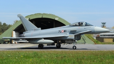 Photo ID 206916 by Peter Boschert. Austria Air Force Eurofighter EF 2000 Typhoon S, 7L WI