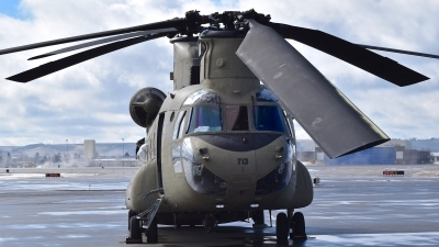 Photo ID 207139 by Gerald Howard. USA Army Boeing Vertol CH 47F Chinook, 04 08713