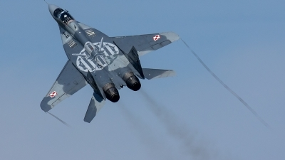 Photo ID 206925 by Thomas Ziegler - Aviation-Media. Poland Air Force Mikoyan Gurevich MiG 29A 9 12A, 40