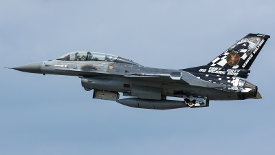 Photo ID 206901 by Thomas Ziegler - Aviation-Media. Belgium Air Force General Dynamics F 16BM Fighting Falcon, FB 24