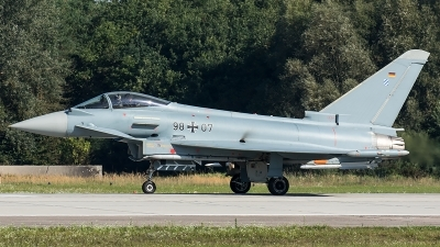 Photo ID 207131 by Thomas Ziegler - Aviation-Media. Germany Air Force Eurofighter EF 2000 Typhoon S, 98 07