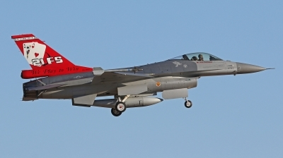 Photo ID 206959 by Tobias Ader. USA Air Force General Dynamics F 16A Fighting Falcon, 93 0721
