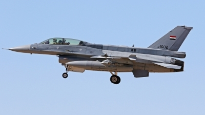 Photo ID 207047 by Tobias Ader. Iraq Air Force General Dynamics F 16D Fighting Falcon, 1602