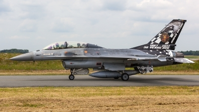 Photo ID 207162 by Thomas Ziegler - Aviation-Media. Belgium Air Force General Dynamics F 16BM Fighting Falcon, FB 24