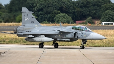 Photo ID 207185 by Thomas Ziegler - Aviation-Media. Hungary Air Force Saab JAS 39 EBS HU C Gripen, 34