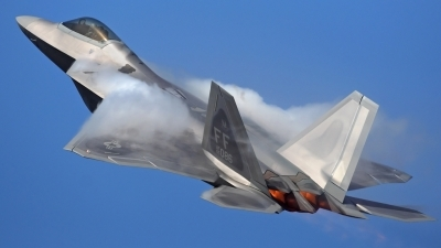Photo ID 267 by Chad Thomas - Jetwash Images. USA Air Force Lockheed Martin F 22A Raptor, 05 4086