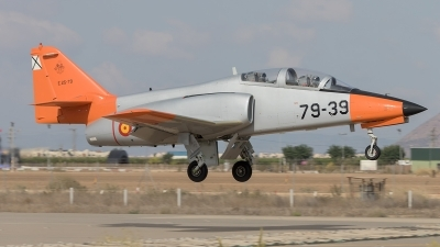 Photo ID 207244 by F. Javier Sánchez Gómez. Spain Air Force CASA C 101EB Aviojet, E 25 79