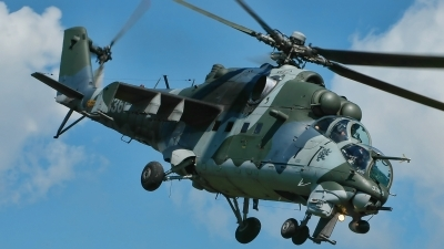 Photo ID 207384 by Radim Spalek. Czech Republic Air Force Mil Mi 35, 3366