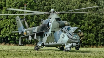 Photo ID 207382 by Radim Spalek. Czech Republic Air Force Mil Mi 35, 3367
