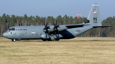 Photo ID 207293 by Günther Feniuk. USA Air Force Lockheed Martin C 130J 30 Hercules L 382, 07 8608