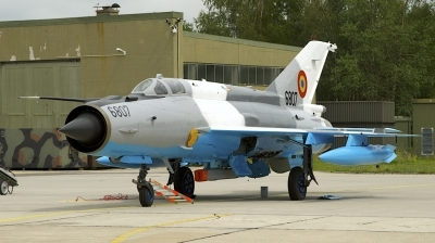 Photo ID 207286 by Robert Flinzner. Romania Air Force Mikoyan Gurevich MiG 21MF 75 Lancer C, 6807