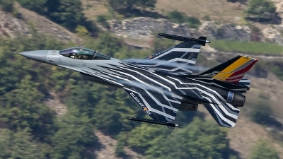 Photo ID 207694 by Thomas Ziegler - Aviation-Media. Belgium Air Force General Dynamics F 16AM Fighting Falcon, FA 123