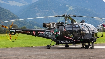 Photo ID 207350 by Thomas Ziegler - Aviation-Media. Austria Air Force Aerospatiale SA 316B Alouette III, 3E KA