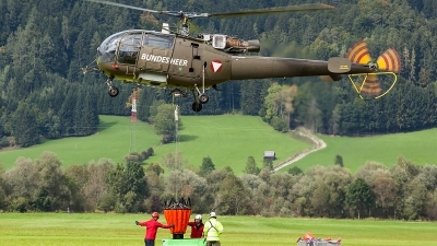 Photo ID 207348 by Thomas Ziegler - Aviation-Media. Austria Air Force Aerospatiale SA 316B Alouette III, 3E KX