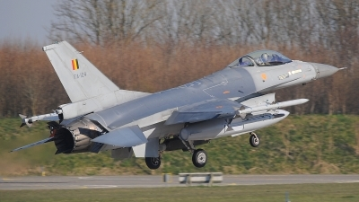 Photo ID 207484 by Peter Boschert. Belgium Air Force General Dynamics F 16AM Fighting Falcon, FA 124