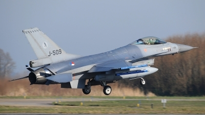 Photo ID 207396 by Peter Boschert. Netherlands Air Force General Dynamics F 16AM Fighting Falcon, J 509