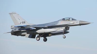 Photo ID 207397 by Peter Boschert. Netherlands Air Force General Dynamics F 16AM Fighting Falcon, J 516