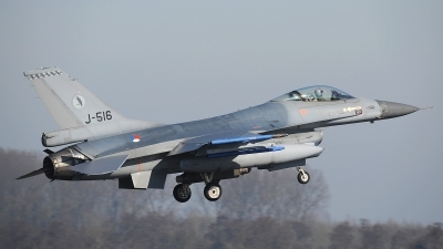 Photo ID 207398 by Peter Boschert. Netherlands Air Force General Dynamics F 16AM Fighting Falcon, J 516