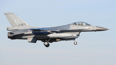 Photo ID 207399 by Peter Boschert. Netherlands Air Force General Dynamics F 16AM Fighting Falcon, J 871