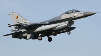 Photo ID 207478 by Arie van Groen. Belgium Air Force General Dynamics F 16AM Fighting Falcon, FA 116