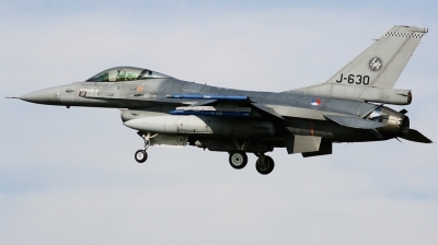 Photo ID 207468 by Arie van Groen. Netherlands Air Force General Dynamics F 16AM Fighting Falcon, J 630