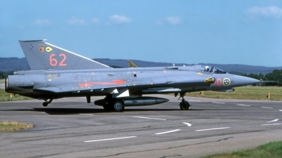 Photo ID 207474 by Marc van Zon. Sweden Air Force Saab J35J Draken, 35568